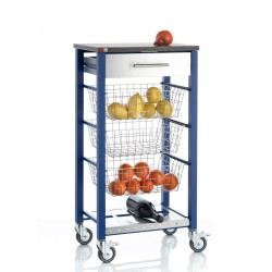 Vegetable rack ONDA BLUE