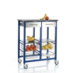 Large vegetable rack ONDA BLUE