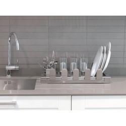 AQUA Dish rack in stainless steel