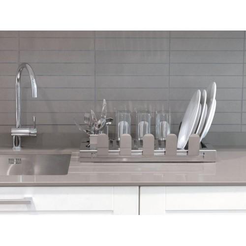 Égouttoir à vaisselle en Acier Inoxydable AQUA