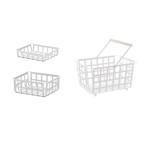 ZESTA, Set mit 3 Körben: klein, mittel und shalb groß
