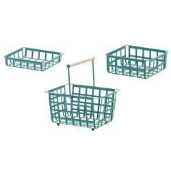 ZESTAS, set de 3 cestas: tamaño pequeño, medio y semi grande