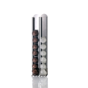 KAPSULAS, Set of 2 decorative storage for Nespresso capsules.