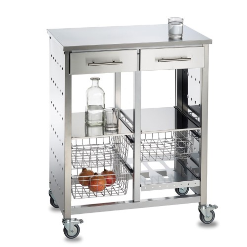 Doppelküchenwagen, MALMÖ INOX