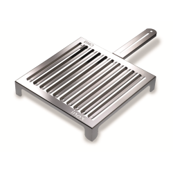 ABRASAME, Charcoal grill in stainless steel