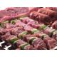 Parrilla Barbacoa para carbón: Carne