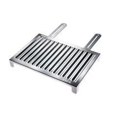 Stainless steel grill for coal/charcoal XL