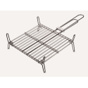 Medium barbecue grill in stainless steel