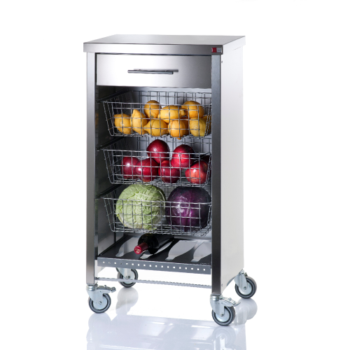 Vegetable rack in stainless steel STEEL COOK
