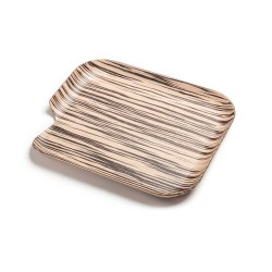 Natural wood Delica Tray, 35 x 30 cm., left