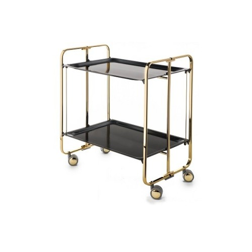 Table roulante pliante BAUHAUS. 3 positions Trolley