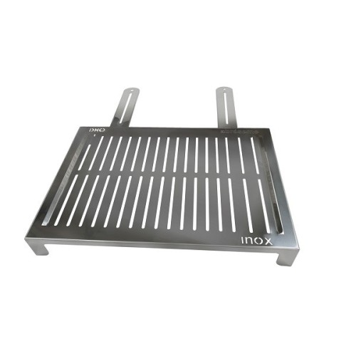 Stainless steel grill for coal/charcoal: FISH - VEGETABLES XL