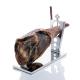Folding ham holder in stainless steel