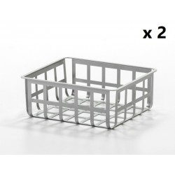 ZESTAS - Set of 2 baskets - medium size