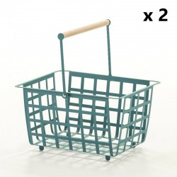 ZESTAS - Set of 2 baskets - semi large size